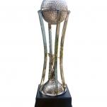 Metal & Wooden Base Trophy (Golf)
