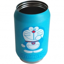 Stainless Steel Vacuum Water Bottle - Doraemon - 300ML